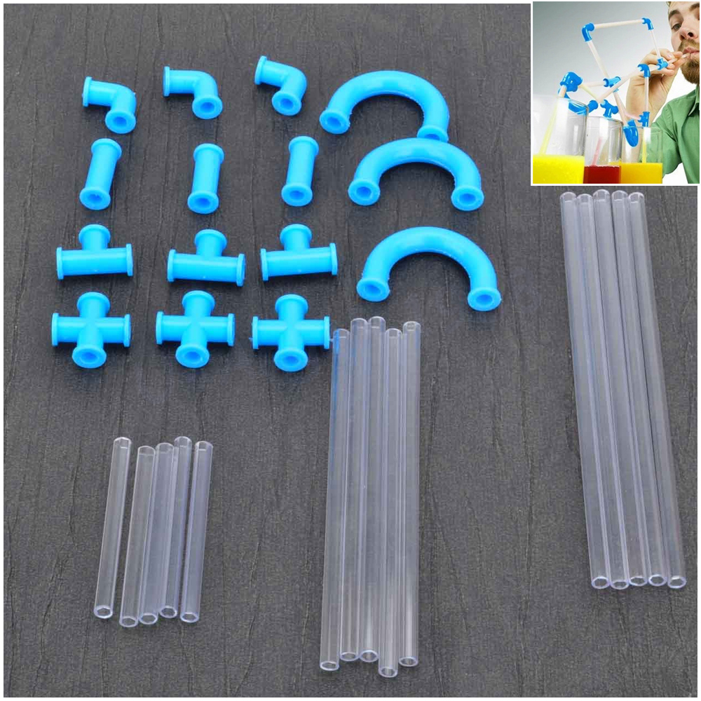 Newest creative DIY crazy straw , Europe and America fashional , multifunction and lovers equipment