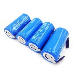 Image 2 - 2019 LiitoKala 3.2V 32700 7000mAh 6500mAh LiFePO4 bateria 35A ciągłe rozładowanie maksymalnie 55A bateria o dużej mocy + arkusze niklu