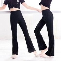 Crianças flare calças de dança de cintura alta calças esportivas menina sweatpants yoga correndo calças esportivas leggings de fitness