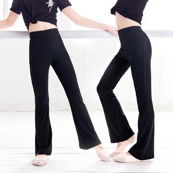 Spodnie do tańca dla dzieci Flare spodnie sportowe z wysokim stanem spodnie dresowe dla dziewczynek spodnie do biegania dla jogi odzież sportowa Fitness leginsy tanie i dobre opinie daydance Pasuje mniejszy niż zwykle proszę sprawdzić ten sklep jest dobór informacji 0 2 kg Stretcha Anti-pot 7148015