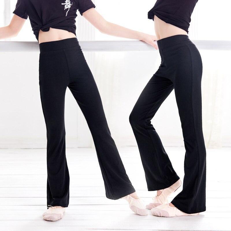 Yoga Pants Kids Pants Training High Waist Sport Flare Pants Girl Sweatpants Yoga Running Pants Sportswear Fitness Leggings|Children Sports Pants| - AliExpress