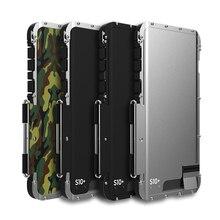 درع الملك الفولاذ المقاوم للصدأ المعادن الوجه حقيبة لهاتف سامسونج غالاكسي S10 زائد S10E s10 5G نوت 10 غطاء مقاوم للصدمات ل S9 Plus S9 S8 S7