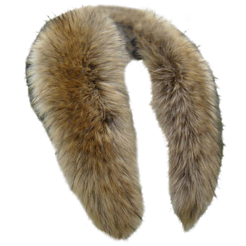 2017 NEW Winter Fashion Luxury Artificial Fox Fur Collar Scarf Warm Warmer Shawl Wrap Stole Original