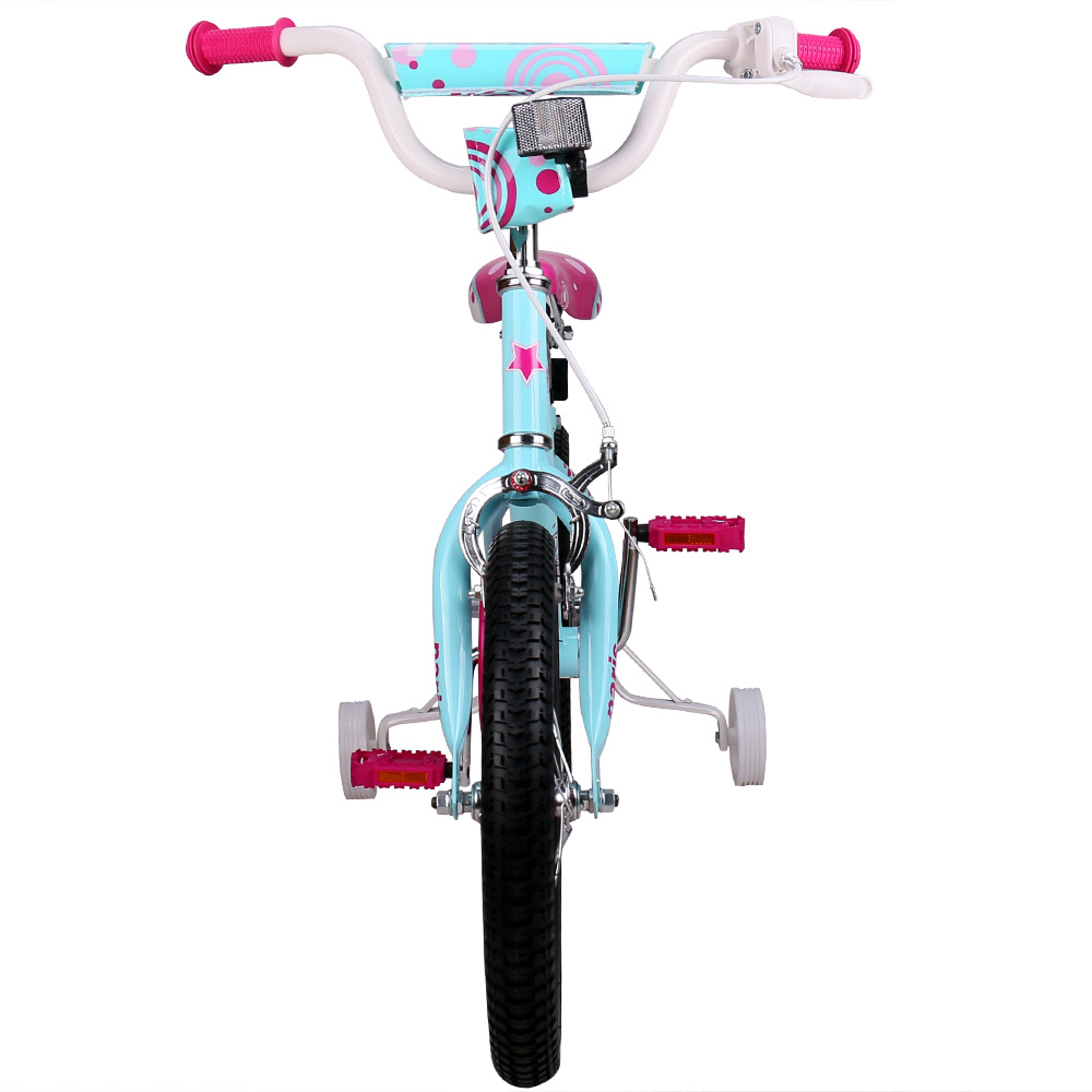 a3506c67b4c 16 Inch Paris Girl Kids Bike Pink and Blue Kids Bicycle with V break and  Training Wheels for Girl -in Bicycle from Sports & Entertainment on  Aliexpress.com ...