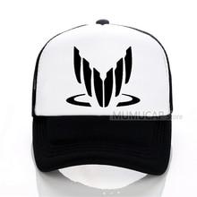 MASS EFFECT N7 Baseball Cap Men Women Summer Trucker Caps mass effect n7 Mesh Hot Game Net Hat