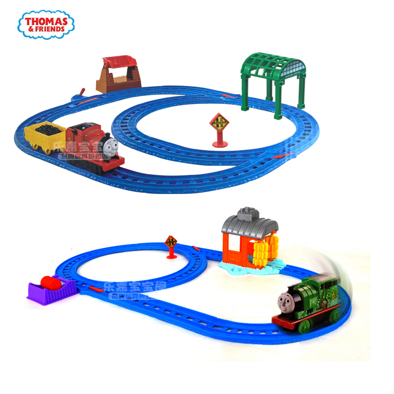 thomas the train thomas electric series double loop track. Black Bedroom Furniture Sets. Home Design Ideas