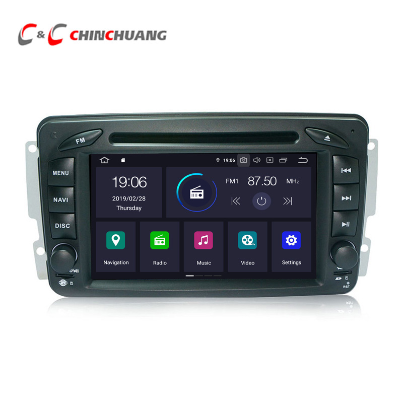 Android 9.0 Car DVD Player for Mercedes <font><b>Benz</b></font> M ML W163 CLK W209 <font><b>W203</b></font> W208 W463 Vaneo Viano Vito W639 <font><b>Radio</b></font> RDS GPS <font><b>Navi</b></font> DVR Wifi image