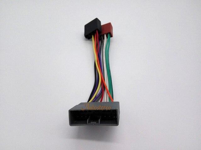Autostereo ISO Radio stecker Draht Kabel für Honda Mitsubishi ...