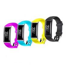 Родился good looking Bluetooth Smart Браслет Беспроводные устройства для Apple Android мобильного телефона группы сердечного ритма часы