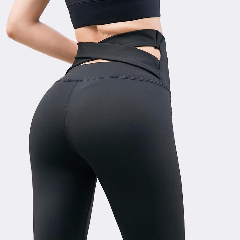 Women Gym Trousers Sports Fitness High Waist Leggings Jogging Yoga Pants Stretch