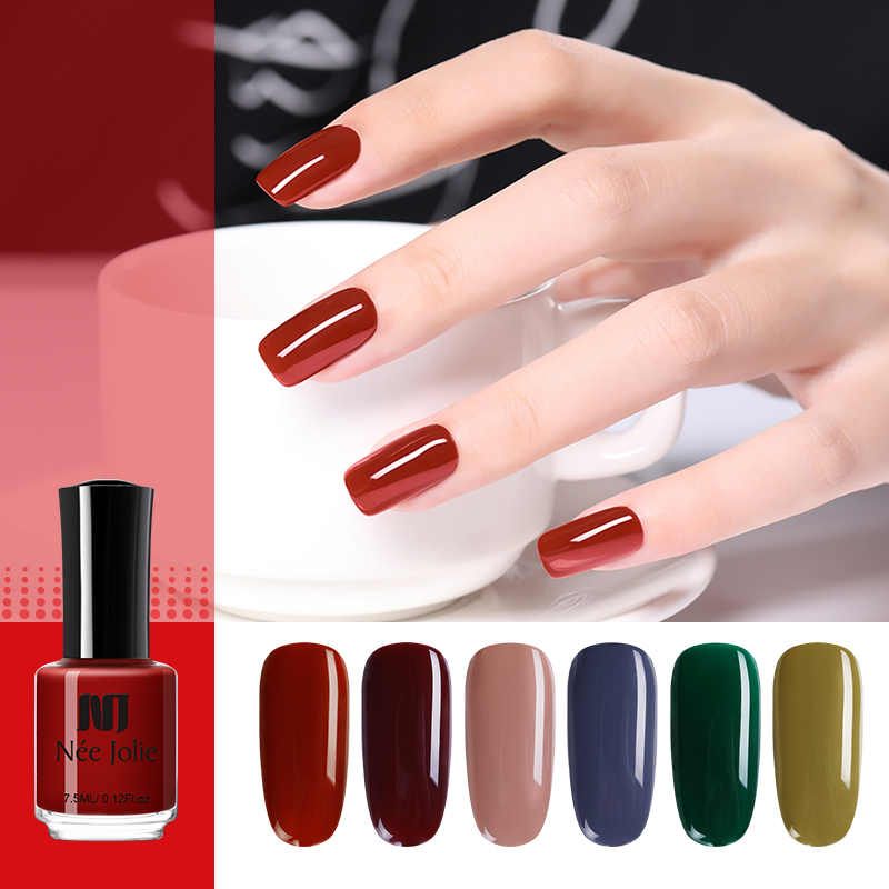 NEE JOLIE 7 5ml Nail Polish Matte Effect Nails Color Nail