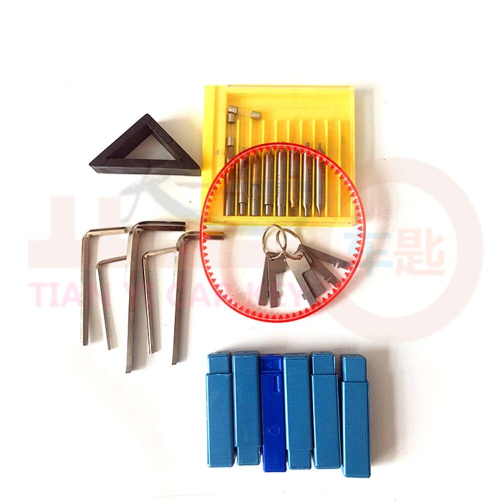 Image 2 - CHKJ High Quality Vertical Key Cutting Machine GOSO 998A 220v Key Cutter Copy Duplicating Machine Car Door KeyLocksmith Supplies   -