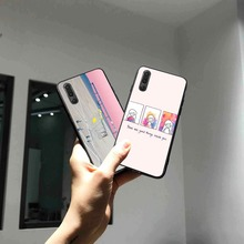 Literary Style Phone Cases Cover for Huawei P30 lite pro nova 3i Mate 20 Case P smart 2019 Soft
