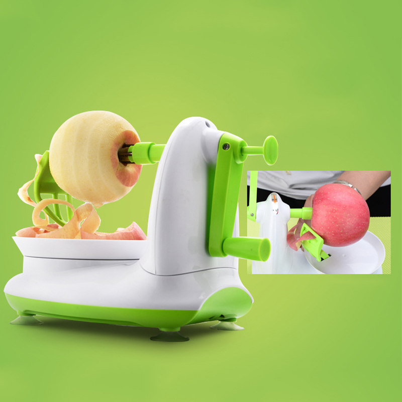 New Creative Fruit Peeler Peeling Machine Multifunction Manual Fruit Peeler Machine Cutting Apple Artifact Kitchen Tools 140 page note paper creative fruit design