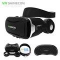 Original shinecon vr 4.0 smartphone estéreo auriculares gafas de realidad virtual 3d vrbox casco + control remoto para 4-5.5 shinecon'