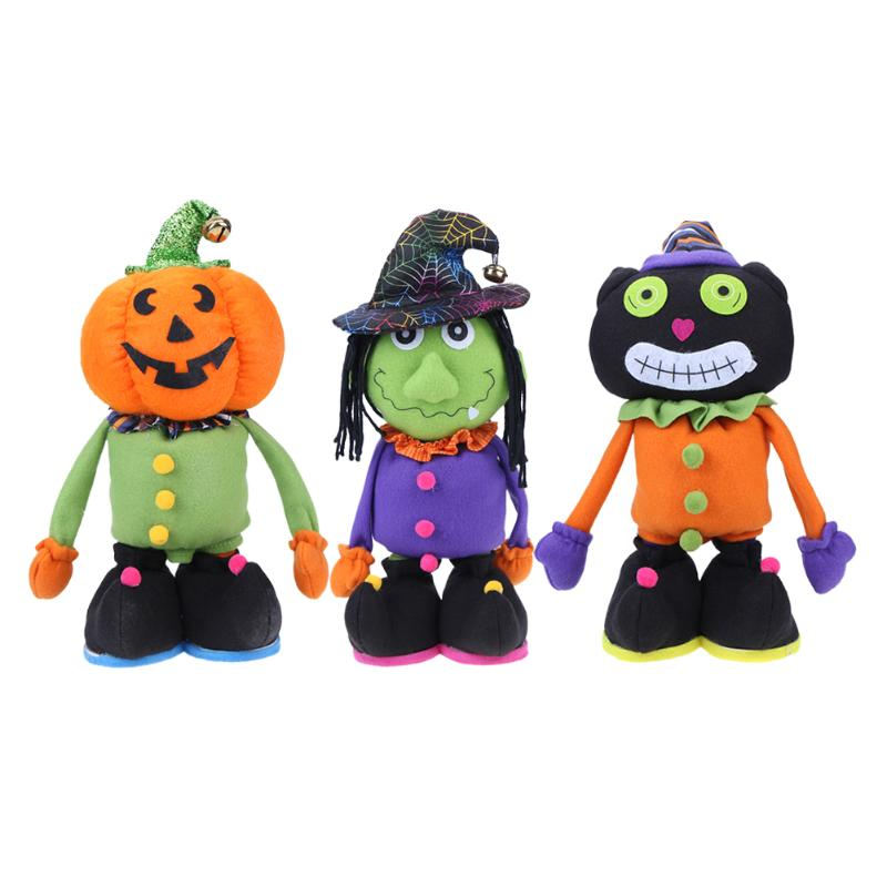 lovely design halloween plush soft toy telescopic spoof whimsy decor furnishing articles doll halloween party gift - Article About Halloween
