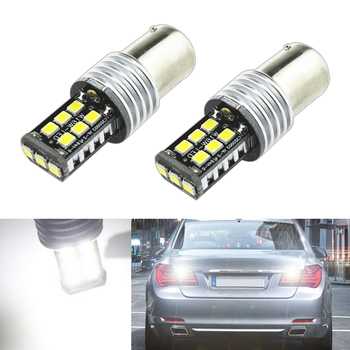 2x 1156 LED 2835 Chip backup reverse light lamp For BMW 3/5 SERIES E30 E36 E46 E34 X3 X5 E53 E70 Z3 Z4 image