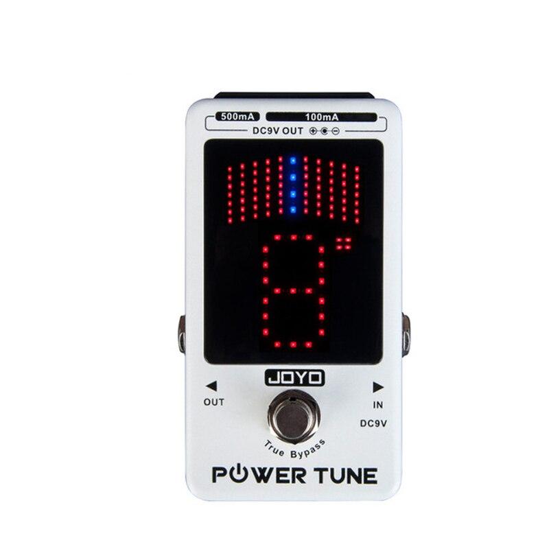High quality JOYO Power Tune JF18R Power Tune True Bypass Electric Guitar Bass 8 Port Multi