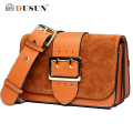 DUSUN Vintage Fashion Women handbags Women Messenger Bag Luxury Brands Casual Women Bag Leather Shoulder Bag Messenger Bag