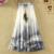 Nuevo 2017 Verano de Las Mujeres Falda Larga Bohemia Falda de gasa de impresión Saia Femme Boho Beach Faldas para las mujeres