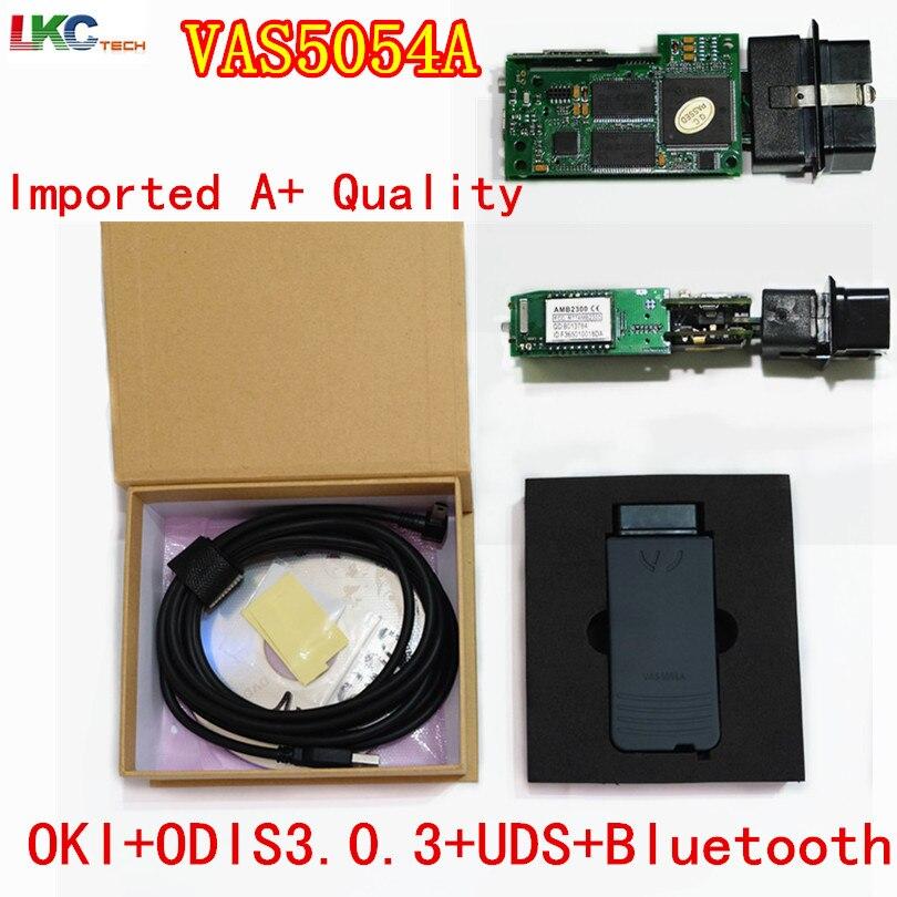 2019 A+Quality Imported Green OKI Full Chip VAS 5054A ODIS V4.4.1 Bluetooth VAS5054A Support UDS Protocol VAS 5054 VAS5054