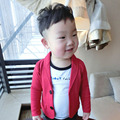 2016 Boys Blazers Kids for Wedding Clothing Cotton Single Breasted 18M-5y Kids Clothes Fashion Casual Children Clothes EB040