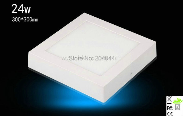 2015 Sale Spot Ceiling Lamp Free Shipping 4pcs/lot Led Light 24w 300*300mmled Panel Surface Mounted Warm/cool White Rohs Bulbs