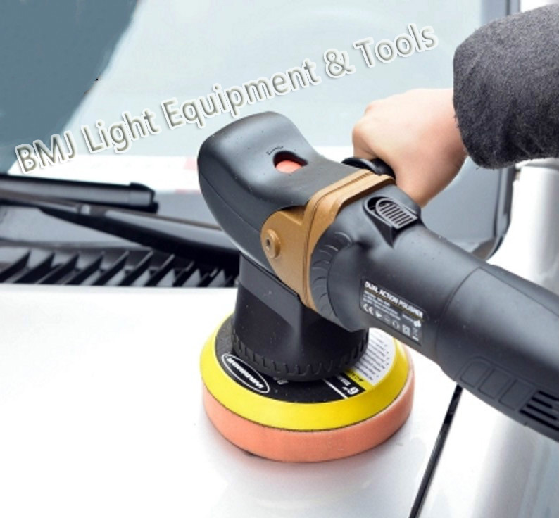 small throw thread 18mm  800w variable speed random orbital dual action car polisher   one year warranty free shipping 120w orbital professional variable speed polisher with terry cloth bonnet