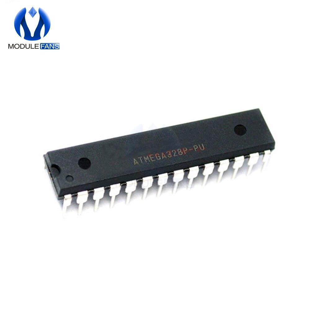 2PCS ATMEGA 328P-PU Microcontrolle R avec ARDUINO UNO R3 bootloader