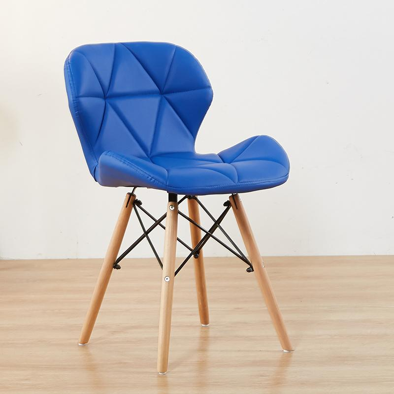 Nordic chair modern simple home net red INS stool back makeup desk chair butterfly dining chair