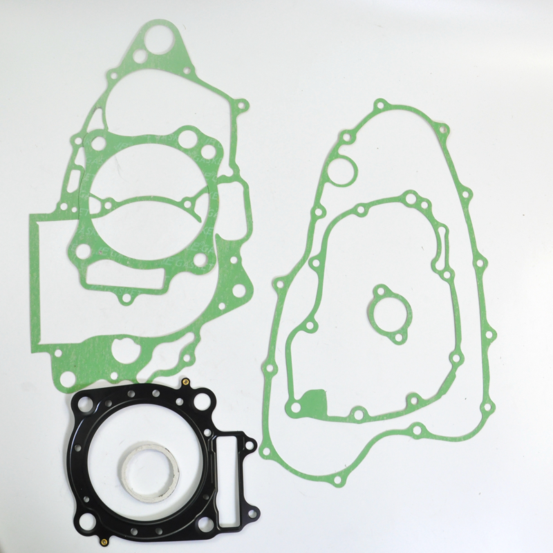 Motorcycle Cylinder Crankcase Cover Gasket Fit for Honda CRF450R 2002 2006 Motorcycle Engine Rebuilding Kits gasket