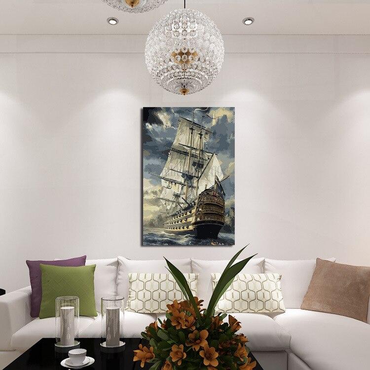 Υψηλής ποιότητας σύγχρονη καμβά - Διακόσμηση σπιτιού - Φωτογραφία 3