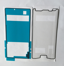 New 1Sets (2pcs)Front LCD Frame Adhesive+Back Cover Adhesive Sticker Tape for Sony Xperia Z4 Free Shipping