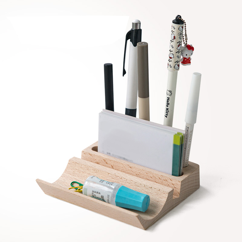 Designs Of Pen Stand : High end wood pen holder desk accessories pen stand office