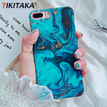 TIKITAKA Fashion Sea Oil Painting Phone Case For iP
