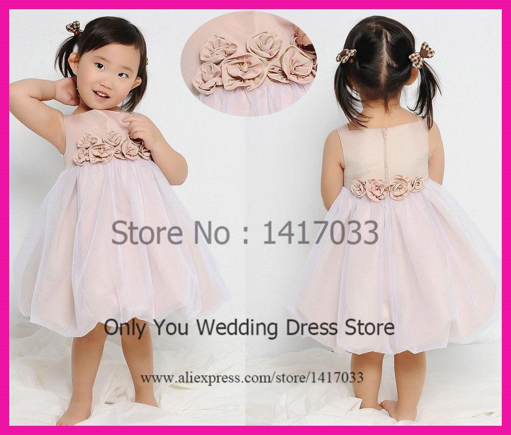 aliexpresscom buy lovely pink flower girl dresses for weddings toddler glitz pageant dresses 2015 tank vestidos de menina from reliable girls dresses