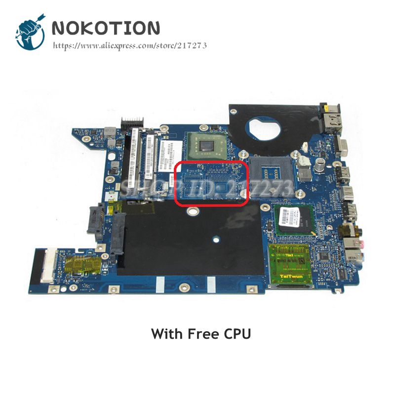 NOKOTION For <font><b>Acer</b></font> aspire <font><b>4736</b></font> Laptop motherboard KALG0 LA-4494P MBP5302001 MAIN BOARD GL40 DDR3 Free CPU image