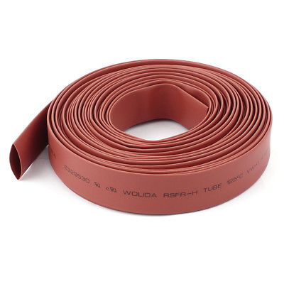 Red 14mm Dia Polyolefin 2:1 Heat Shrink Tubing Wire Wrap Cable Sleeve 10M 33Ft retardant heat shrink tubing shrinkable tube diameter cables 120 roll sale