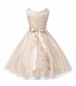 Image 3 - Cailini vestido de princesa para meninas, vestidos de princesa de renda para crianças, aniversário, casamento, festa, branco, preto, dança, 3 14 anos