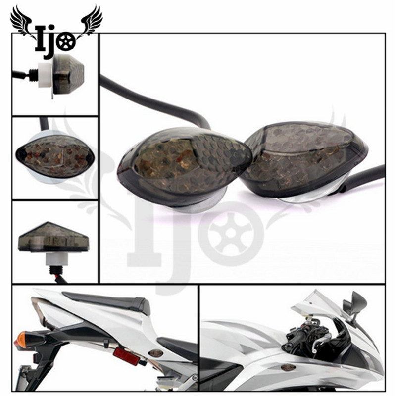 Motorcycle accessories  embedded LED turning signal lamp for HONDA sports car motorcycle modified LED turn lamp|  - title=