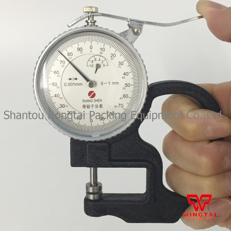 SHANG SHEN 0-1mm 0.001mm Mechanical Thickness Tester For Film clear acrylic a3a4a5a6 sign display paper card label advertising holders horizontal t stands by magnet sucked on desktop 2pcs