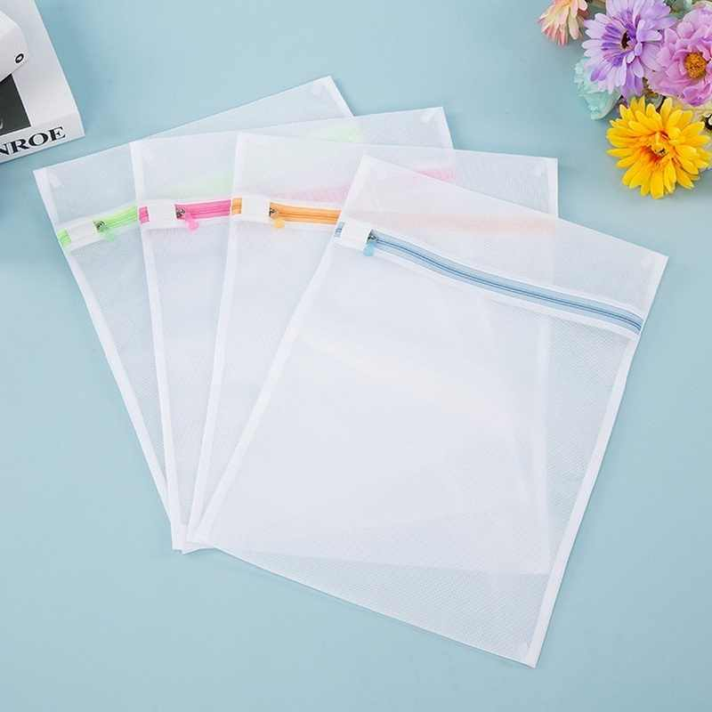 Hoomall  Laundry Bag Clothes Bra Underwear Washing Bag Mesh Net Wash Pouch Laundry Basket For Washing Machine Storage Bag Washer