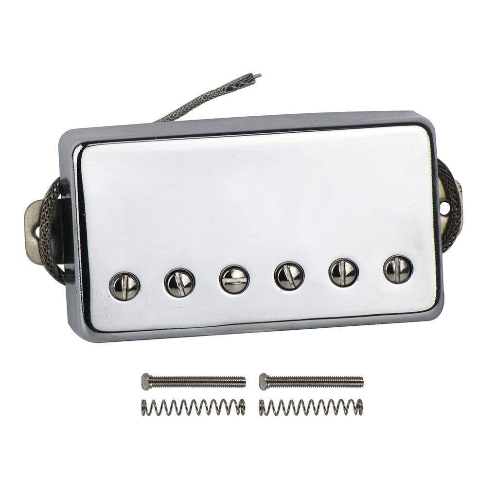 Image 2 - NEW Alnico 5 / V Humbucker Electric Guitar Pickup Chrome Neck or Bridge Pickup Choose For LP Style GuitarGuitar Parts & Accessories   -