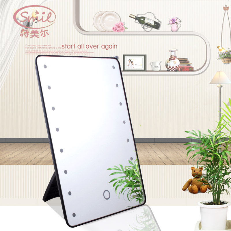 Touch screen LED table Mirror portable cosmetic mirror Personal care cleaning washing products makeup toolsTouch screen LED table Mirror portable cosmetic mirror Personal care cleaning washing products makeup tools