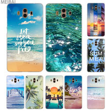 MEIBAI Aloha Summer sea oceam Transparent cover case for Huawei Mate 7 8 9 10 20 Mate 10 20 lite Mate 20 pro 20x S cover(China)