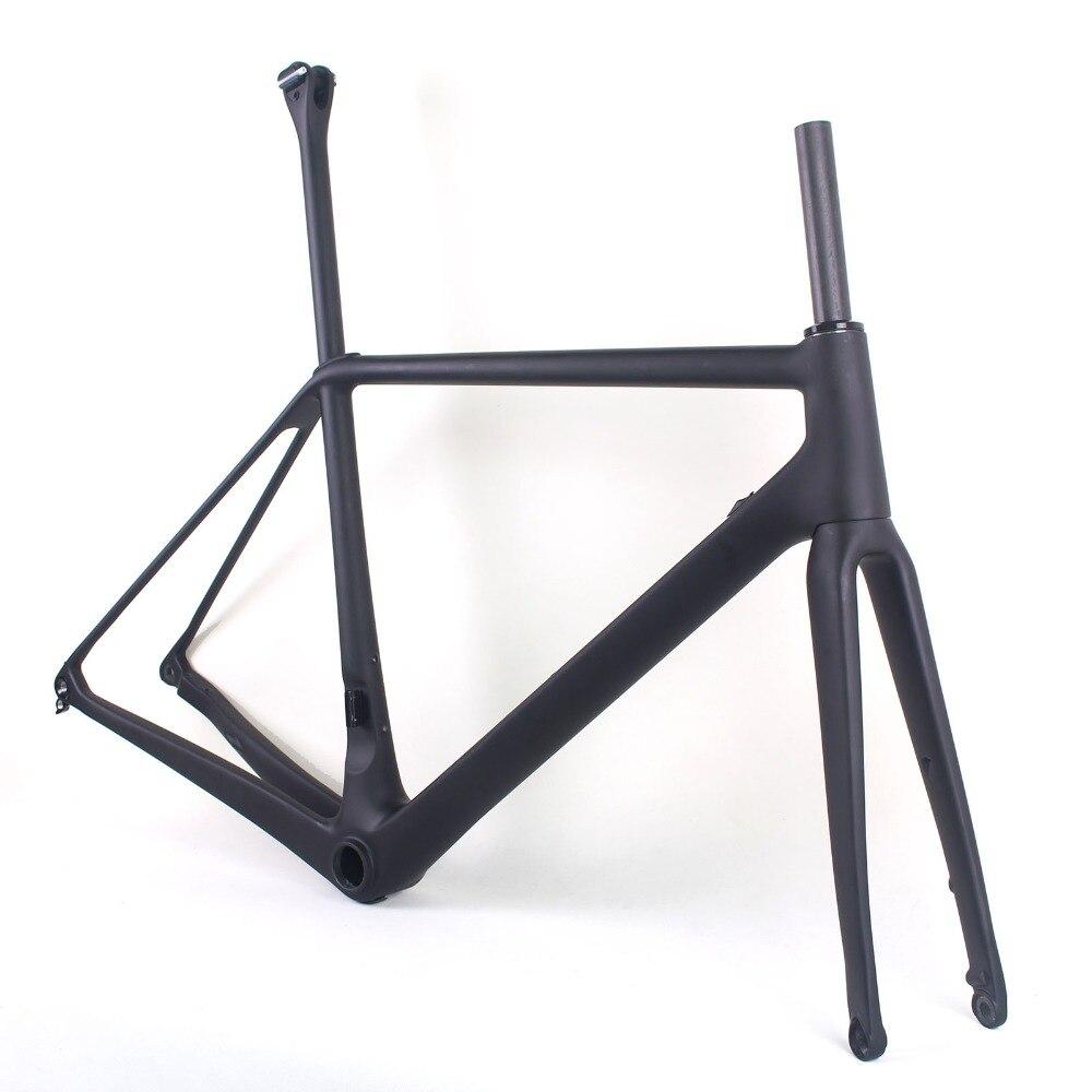 2019 cadre de vélo de route disque carbone super léger cadre de vélo de cyclisme cadre de carbone chinois route pas cher vélo de route taille 50/52/54 cm