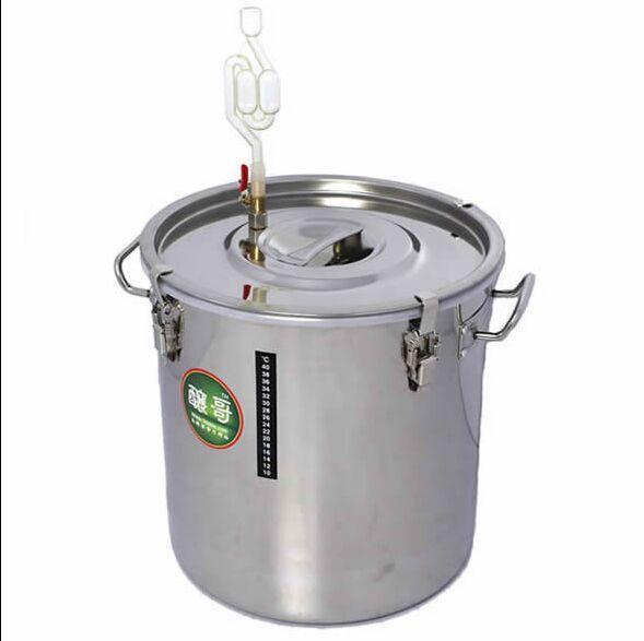 6250.55руб. 5% СКИДКА|Новый 25л 304 ферментеры для домашнего пивоварения из нержавеющей стали для пивоварения, ферментатор для ликера, ферментированное вино из нержавеющей стали, чайник для домашнего пивоварения|Наборы для бара| |  - AliExpress