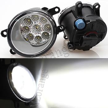 цена на Led Fog Lights For TOYOTA Corolla  AVENSIS AURIS RAV 4 2003-2015 for Toyota Fortuner 2015-17 Fog Lamp Super Bright Fog Light