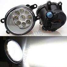 Led Fog Lights For TOYOTA Corolla for AVENSIS AURIS RAV 4 2003-2015 Fog Lamp Assembly Super Bright Fog Light цена 2017
