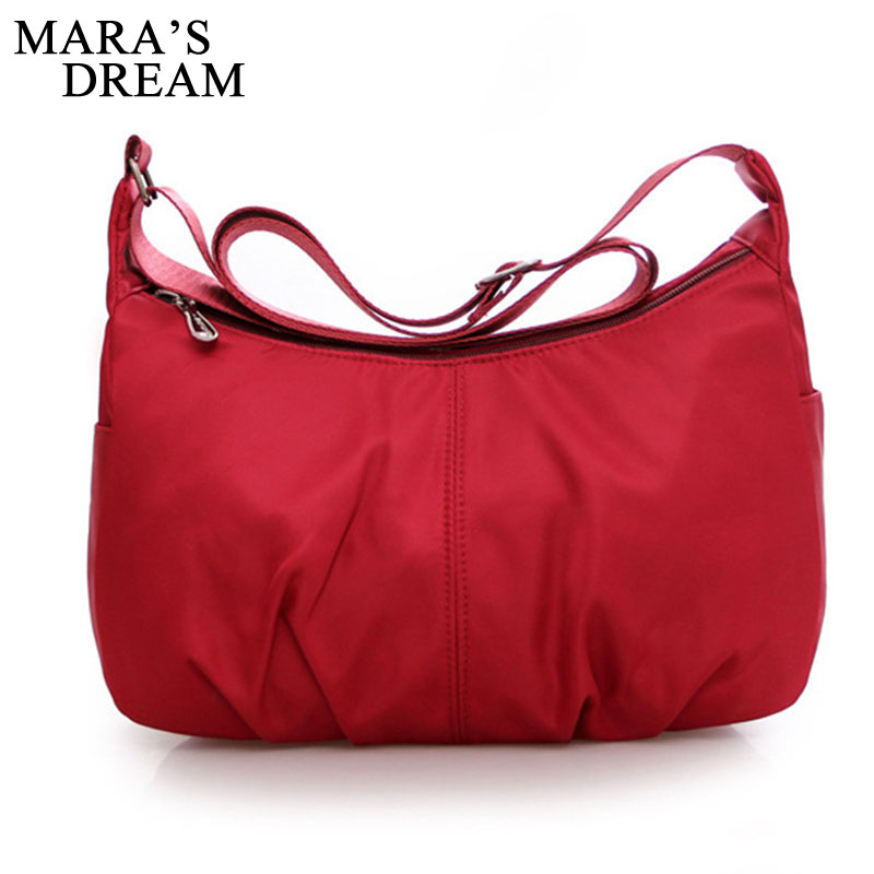 Mara's Dream Women's Messenger Bags Ladies Nylon Handbag Travel Casual Bag Shoulder Female Large Capacity Crossbody Bag women s messenger bags ladies nylon handbag travel casual bag shoulder female high quality large capacity crossbody bags